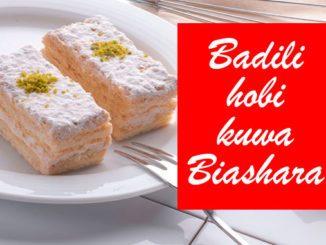 Badili hobi kuwa biashara
